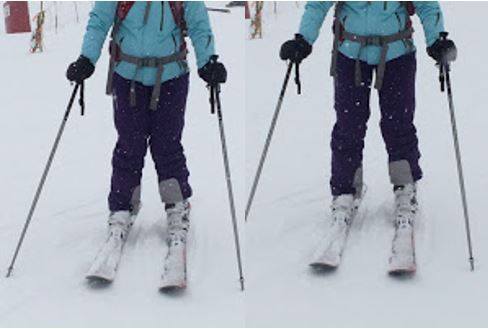 Understanding your skiing 'A' frame