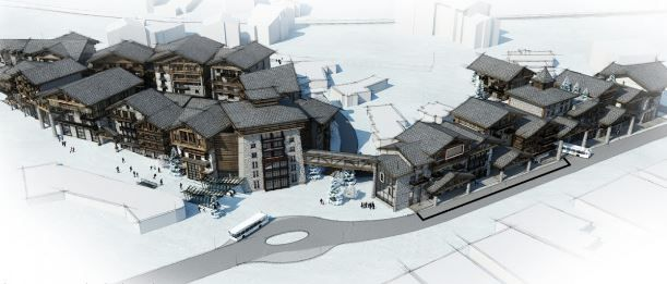 Huge Redevelopment for Val d'Isere