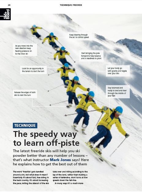 The speedy way to learn off-piste